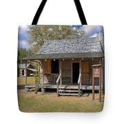 Yates Homestead Built In 1893 On Taylor Creek In Central Florida Tote Bag