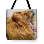 Yawn Tote Bag