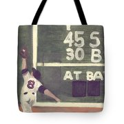 Yaz And The Green Monster Tote Bag