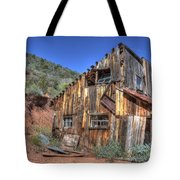 Ye Old Ford Building Tote Bag