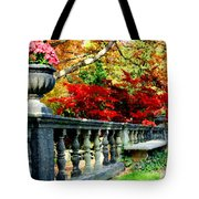 Ye Olde Garden Bench Tote Bag