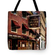 Ye Olde Union Oyster House Tote Bag