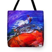 Year Of The Rooster Year Of The Fish Tote Bag