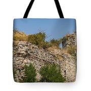 Yedikule Fortress Ruins Tote Bag