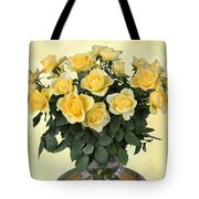 Yello Roses Tote Bag