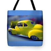 Yellow 1940 Hudson Tote Bag