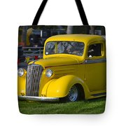 Yellow 30's Chevy Pickup Tote Bag