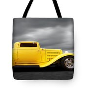Yellow 32 Ford Deuce Coupe Tote Bag