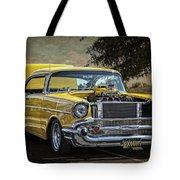 Yellow 57 Tote Bag