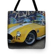 Yellow Ac Cobra  Tote Bag