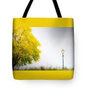 Yellow And Golden Tote Bag