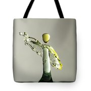 Yellow And Green 1 Tote Bag