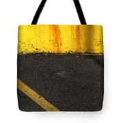 Yellow And Grey Wc  Tote Bag