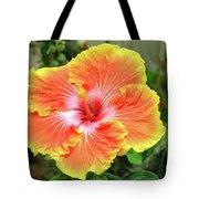 Yellow And Orange Hibiscus 2 Tote Bag