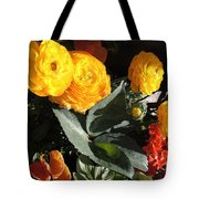 Yellow And Orange Marigolds Tote Bag