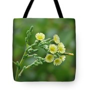 Yellow And Small Tote Bag