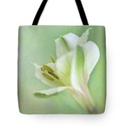 Yellow And White Peruvian Lily Tote Bag