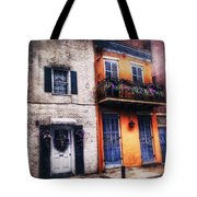 Yellow And White Side By Side Tote Bag