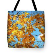 Yellow Autumn Leaves 2 Tote Bag
