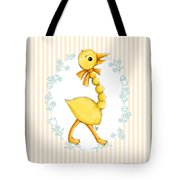 Yellow Baby Duck Tote Bag