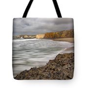 Yellow Bank Cliffs Tote Bag