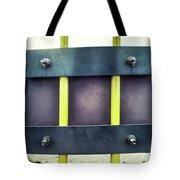 Yellow Bars Close Up  Tote Bag