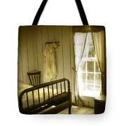 Yellow Bedroom Light Tote Bag