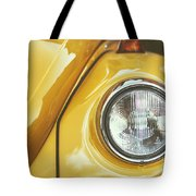 Yellow Beetle Tote Bag