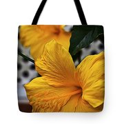 Yellow Belly Tote Bag
