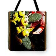 Yellow Berries Tote Bag