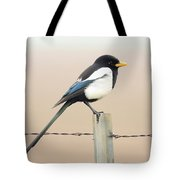Yellow-billed Magpie Tote Bag by Wingsdomain Art and Photography