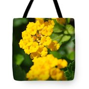 Yellow Blooms Tote Bag