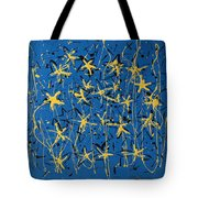 Yellow Blue Tote Bag