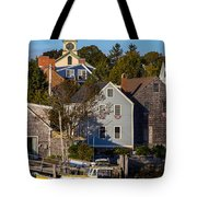 Yellow Boat Tote Bag