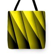 Yellow Borders Tote Bag
