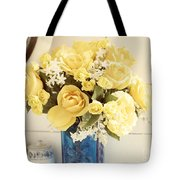 Yellow Bouquet Of Flowers Tote Bag