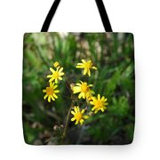 Yellow Bouquet On The Trail Tote Bag