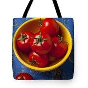 Yellow Bowl Of Tomatoes  Tote Bag