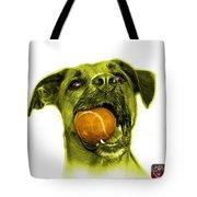 Yellow Boxer Mix Dog Art - 8173 - Wb Tote Bag