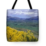 Yellow Broom Over Pasture In Dalefield Tote Bag
