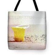 Yellow Bucket Tote Bag