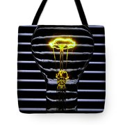 Yellow Bulb Tote Bag