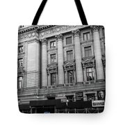Yellow Cab By The Museum Of Natural History, New York Tote Bag