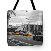Yellow Cabs By The United Nations, New York 2 Tote Bag