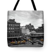 Yellow Cabs In Chelsea, New York 2 Tote Bag