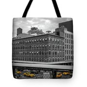 Yellow Cabs In Chelsea, New York 3 Tote Bag