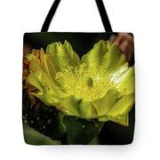 Yellow Cactus Blossom Tote Bag
