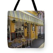 Yellow Cafe Tote Bag