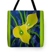Yellow Callas Tote Bag
