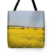Yellow Canola Field Tote Bag